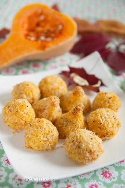 Butternut Squash Rice Balls