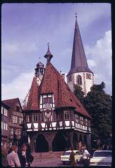 1966-Europe-02-03 (huebner family photos) Tags: germany churches 1966 kodachrome halftimbered praktiflexfx