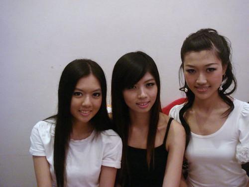 Chee Li Kee,Siao Hui and Carmen