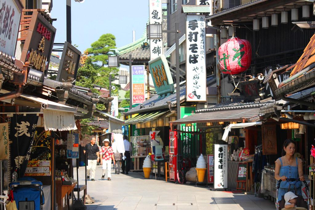 "Walking ""Shibamata"" the Town of Tora-san (8)"