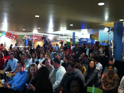 All-hands meeting about to start at eBay HQ