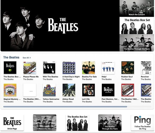 Beatles on iTune