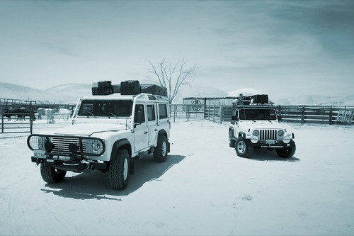 JPG Land Rover Defender 110 and Jeep