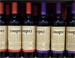 (oops) (Lara's  Stuff) Tags: wine oops voluptuousbeauty cheekylittlered lostgrapeofbordeauxdiscoveredinchilemasqueradingasamerlot