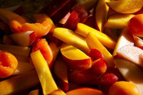 peaches for peach crisp!