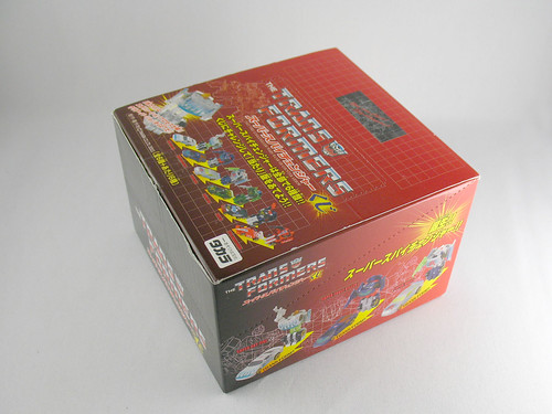 Takara Super Spychangers (unopened box)