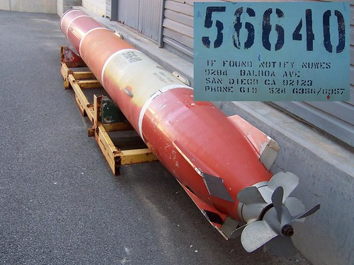 American torpedo Fremantle Maritime Museum Fremantle Western Australia
