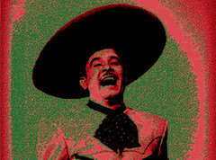 Pedro Infante (Shrimaitreya) Tags: mxico tequila tricolor grito charro pedrito raices pedroinfante backtotheroots vivamxico charronegro mxicolindoyquerido dostiposdecuidado vivamxicocabrones