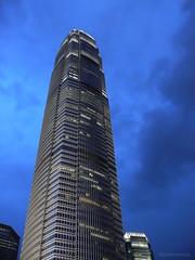 towering (jobarracuda) Tags: lumix hongkong asia ifc fz50 twoifc panasoniclumix twointernationalfinancecenter dmcfz50 aplusphoto jobarracuda ifcatnight