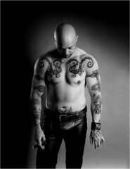 BUCK ANGEL (Mark Berry - Photographer & Graphic Designer) Tags: uk leather tattoo bristol photography la us photo losangeles photographer designer famous july cigar personality smoking freak hollywood porn cult writer biker midget littlepeople pornstar transexual burlesque transgendered bizarre infamous 2007 based mangina littleperson hellsangels fanculture markberry buckangel seleneluna bizarremagazine hotcherry cultpersonalities estoreric wwwhotcherrycouk
