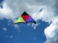 Lookie, it's a kite!