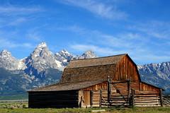 Mormon Barn (tomassvaton) Tags: park barn hole grand jackson yellowstone mormon teton mormonbarn
