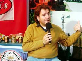 Flavio Rivarola (Encargado del Area Programacion de la Fiesta Nacional del Mani)