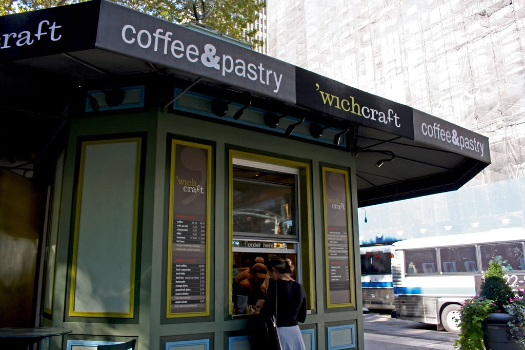 'wichcraft's coffee & pastry stand