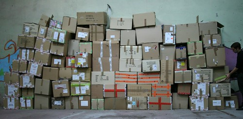 A bordeaux, les boites s'accumulent