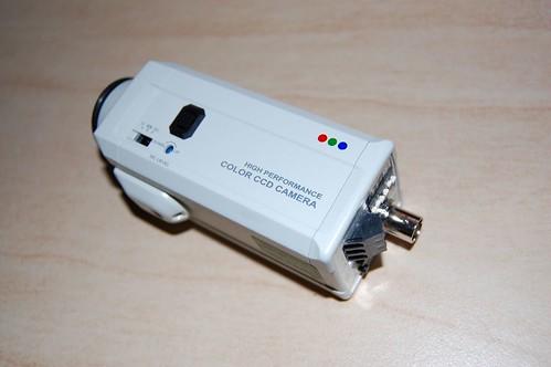 0.001 Lux Color CCD Camera