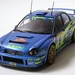 Subaru Impreza WRC 2001 (Rally of Monte Carlo) Richard Burns/Robert Reid No.5