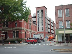 256 Main Street - The new parking garage