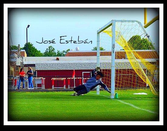 Jose Esteban Goalkeeper Game versus Herndon
