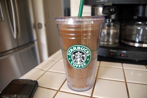 Starbucks: 16oz Clear Acrylic Insulated Tumbler