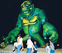 El gorila verde