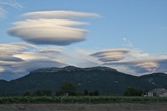 France - ufo clouds