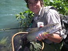William finds a McCloud River trophy Brown Trout