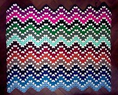 New WIP - Granny Ripple Afghan II (LauraLRF) Tags: rayas lana colors colours crochet colores yarn blanket afghan granny manta stipes tejido ganchillo