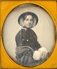 Pretty Women Dag (Mirror Image Gallery) Tags: daguerreotype bonnet victoriangirl victorianbeauty southworhandhawes