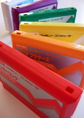 A Famicom rainbow :) [Photo by bochalla] (CC BY-SA 3.0)