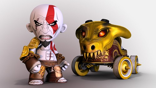 ModNation Racers: Kratos Kart