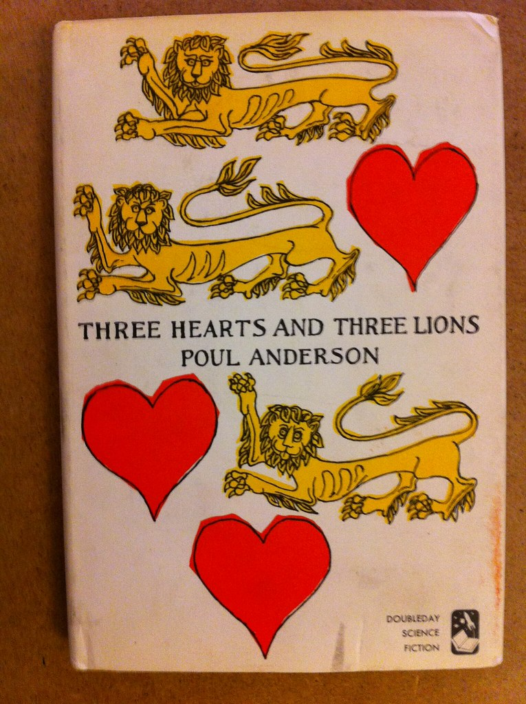 Three Hearts and Three Lions hardcover book