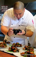 Chef Bruce Lim captured taking photos of his craft