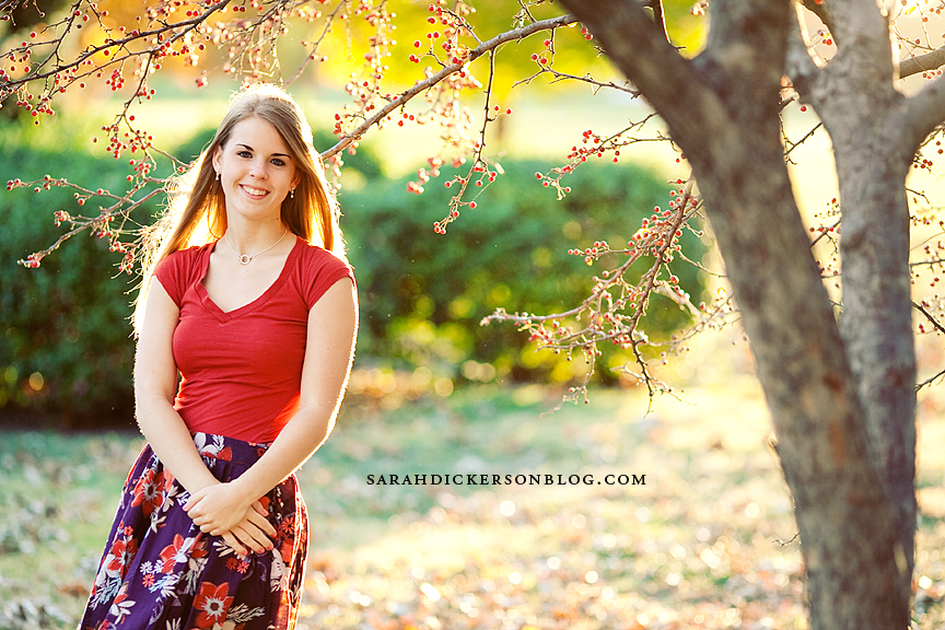 Loose Park senior portrait photography, Kansas City