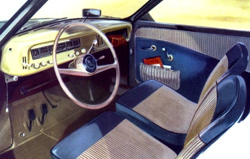 Saab 93 interni