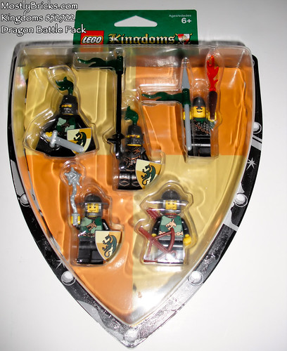 LEGO Kingdoms Battle Packs