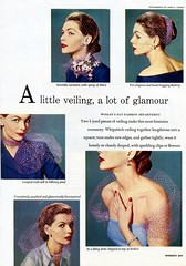 1952 - A Little Veiling A Lot Of Glamor - by clotho98