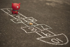 Obedience Training: Hopscotch (Kelvin ) Tags: explore hopscotch uglydolls uglydog