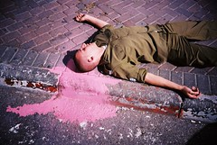 (nivu san) Tags: pink dead soldier army blood lomo lca lomography uniform bestof nur bamahane