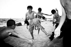 dance.baby.dance (strizh) Tags: beach children fun jumping dancing vietnam southchineesesea