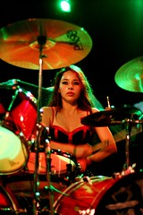 lux - female metal drummer (Lux Drummer) Tags