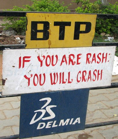 BTP rash/crash