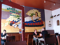 La Bonita, the mural and interior