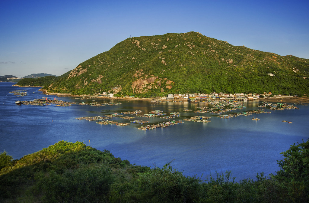 China's Opal Blue Bay of Lamma Island