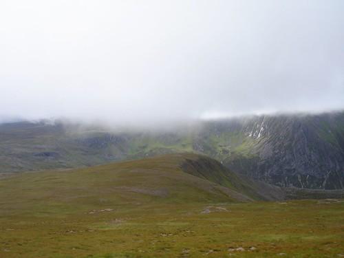 Cliffs of Gleann Einich