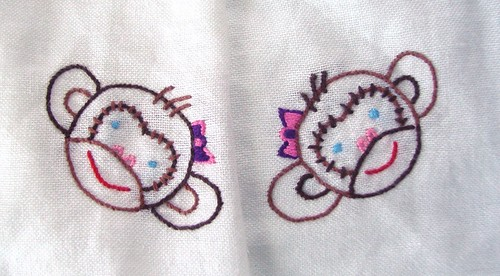 Tea Towel Monkeys