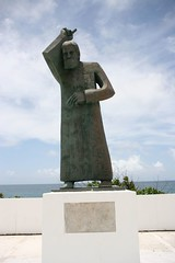 Scolding Statue (Keith P Sheridan) Tags: vacation holiday statue island honeymoon puertorico no peligro tropical caribbean pase sanjaun nopase oldsanjaun oldesanjaun