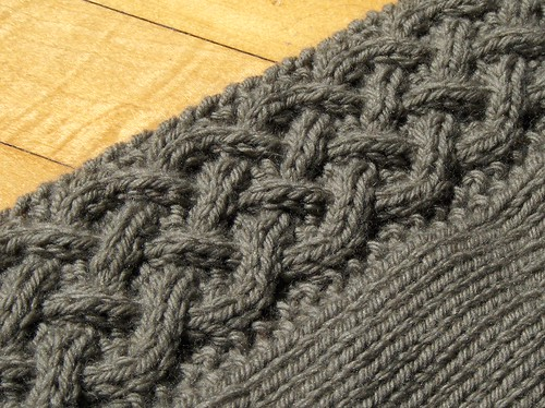 A Cardigan for Arwen - Left Front