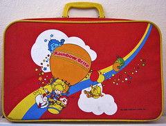 Rainbow Brite Suitcase (sciencensorcery) Tags: 80s eighties suitcase rainbowbrite