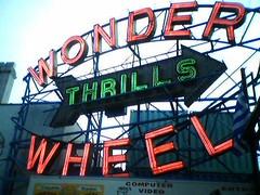 Wonder Wheel Sign